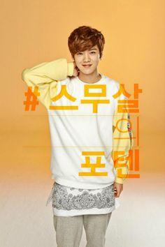 [OFFICIAL] 140302 Coca Cola Korea Twitter update - Luhan ©CokeCaster