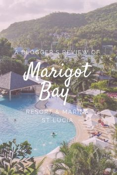My guide to St Lucia's Marigot Bay Resort & Marina, where I enjoyed possibly the most picturesque view from my hotel window.  #travel #caribbean #wanderlust #pastelpink