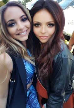 Jade and Jesy they are so cute