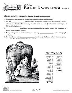 Spiderwick - Test Your Faerie Knowledge (4 of 4)