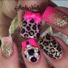 Hot pink... léopard <3