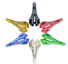 4.85$ (More info here: http://www.daitingtoday.com/super-light-plastic-factory-agents-vertu-bicycle-saddle-mountain-mtb-bike-saddle-seat-6-colors-pvc-cushion-sillin-bicicleta ) Super Light Plastic Factory Agents VERTU Bicycle Saddle Mountain MTB Bike Saddle Seat 6 Colors PVC Cushion Sillin Bicicleta for just 4.85$