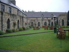 Kinnitty Castle Courtyard