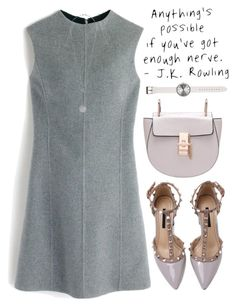 """Fancy"" by mihreta-m ❤ liked on Polyvore featuring J.Crew and Uniform Wares"