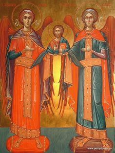 Synaxis of the Archangels and Angels by Ioan Popa