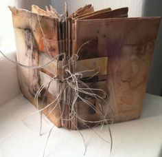 I have books on the brain at the moment - if I'm not writing words for one, I'm playing about with book forms. On a recent workshop I was teaching, where simple book forms was a small part of what ...
