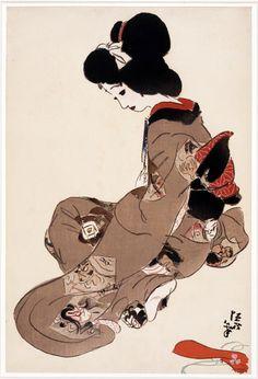 Kitano Tsunetomi (1880~1947) See archive for moreKitano Tsunetomi: HERE