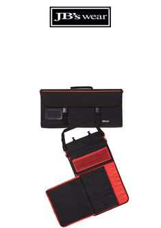CHEF'S DELUXE LARGE KNIFE BAG - BLACK/RED Hospitality, How To Wear, Bags, Handbags, Bag, Totes, Hand Bags