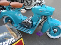 1954/60 Moto-Rumi Formanchino (Italy) 125cc Flat-Twin Cylinder Air-Cooled Two-Stroke Engine