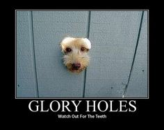 Define glory hole