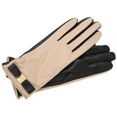 Kate Spade New York Good Point Pyramid Bow Leather Glove