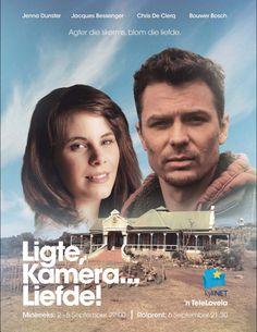 Ligte, kamera... Liefde! Binnekort op kyknet! 5 September, Bosch, Afrikaans, Movie Tv, Films, Entertainment, Creative, Movie Posters, Free