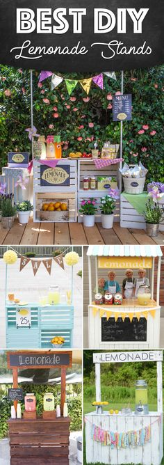 25 Effortless DIY Lemonade Stand Ideas Making Your Summer Parties Refreshing!
