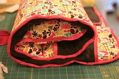 DIY Nap Mat. I don't think I have the sewing skill yet to do this, but I wish I did.