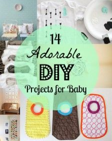 14 adorable DIY projects for baby