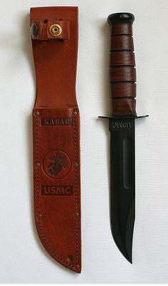 23 ноября 1942 г. COMBAT KNIFE 1219C2  - боевой нож был принят на вооружение корпуса морской пехоты США.   Ka-Bar (USN Mark II) — боевой нож. Нож был разработан и производился американской компанией Tidioute Cutlery Company. Принят на вооружение в 1942 году корпусом морской пехоты и ВМС США. В годы Второй мировой войны различными фирмами было произведено около 1 500 000 ножей. Использовался в таких конфликтах как: Корейская война, Вьетнамская война.