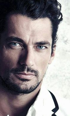 David Gandy I probably pinned this picture several times but I don't care ! I could look at this face all day