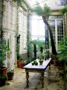 green house - sun room - conservatory....WOW....!!!!!