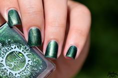 Spell Polish is a boutique/indie nail lacquer with a luxurious formula of glitters, micas and pigments- MINUS the toxins! Out Of The Woods, Class Ring, Swatch, Rings For Men, Silver Rings, Glitter, Beautiful, Going Out, Woodwind Instrument