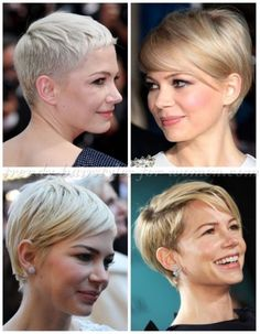 female+celebrity+hairstyles+-+Michelle+Williams+short+pixie+haircut