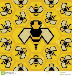 bee illustration - Google Search