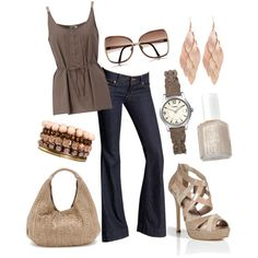 Business Casual, created by ashleyhenderson on Polyvore