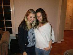 Beverly Mitchell and Mackenzie Rosman