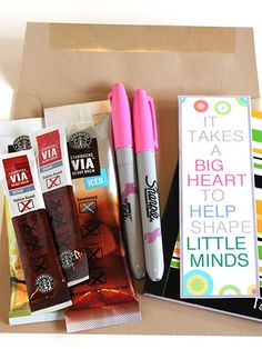It's a thoughtful pick-me-up to get her through those days when the kids have come down with spring fever. http://www.ivillage.com/best-diy-teacher-gifts/6-b-458205#535425
