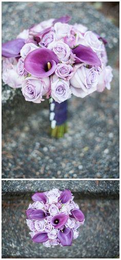 Vibrant purple wedding inspiration
