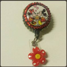 Check out this item in my Etsy shop https://www.etsy.com/listing/214310500/decorated-badge-reel