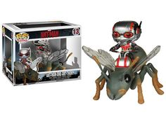 Marvel's tiniest hero rides into Funko's Pop! Vehicle collection in a big way with the Ant-Man and Ant-Thony Pop! Vinyl Vehicle with Figure. Funko Pop Marvel, Marvel Fan, Figurines D'action, America Civil War, Pop Vinyl Figures, Funko Pop Vinyl, Marvel Memes, Cool, Ants