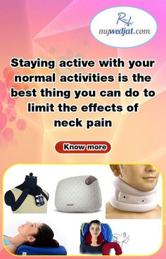Most neck pain is caused by activities that strain the neck. Slouching, painting a ceiling, or sleeping with your neck twisted are some things that can cause neck pain.