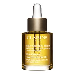 """Clarins // Blue Orchid Face Treatment Oil """"Dehydrated Skin"""" // Winter Treatment"""