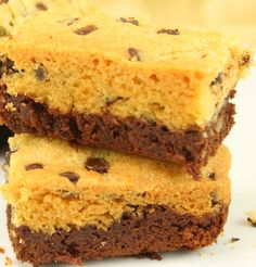 Brookies – Brownie trifft Cookie von amerikanisch-kochenDE (Diy Bar Back)