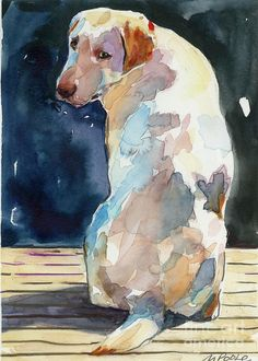 Lucy Moon    Molly Poole Watercolor