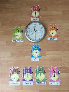 Hodiny Montessori, Clock, Design, Decor, Watch, Decoration, Clocks, Decorating