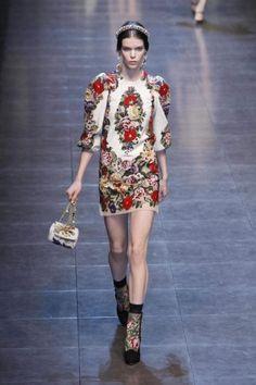 Dolce & Gabbana MFW Fall 2012