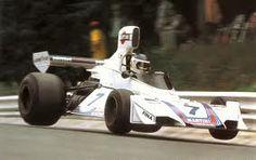 Carlos Reutemann flying