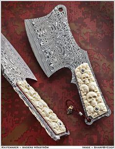 Knifemaker Anders Hogstrom from Sweden
