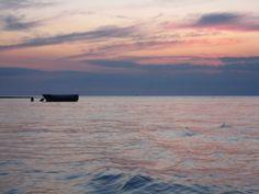 Tramonto dalla barca a Sant'Isidoro E-book spiagge gratuito: http://eepurl.com/C6XNT