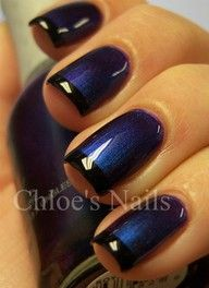 "Black  Blue French Manicure"" data-componentType=""MODAL_PIN"