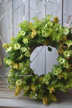 #ギャザリング#リース#ガーデン#リトルアンティークガーデン#Littleantiquegarden#shabby#antique#garden寄せ植え