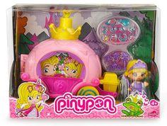#Carruaje #PinyPon Princesa + Figura #Original #CosasDeChicos