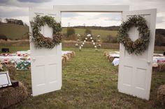 Real {Virginia} Wedding - Jodi & Kurt (decor place setting summer rustic janie medley flora design sunshowers and rainshine design) - Lover.ly