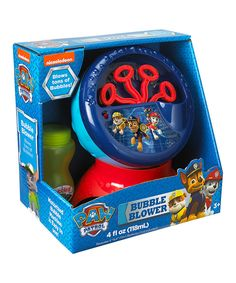 Look what I found on #zulily! Paw Patrol Bubble Machine by Nickelodeon #zulilyfinds