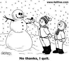 hilarious funny cartoon - christmas humor - holiday humor - winter humor - snowman humor - snowmen humor - Kids build a snowman and try to p. Snowman Jokes, Snowman Cartoon, Funny Snowman, Cute Snowman, Christmas Jokes, Christmas Cartoons, Christmas Fun, Xmas, Cold Weather Memes