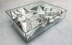 Silver Crush table by PATRIK FREDRIKSON & IAN STALLARD. #milandesignweek2012 #mdw12 #milano