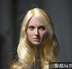 """44.62$  Know more - http://aidv8.worlditems.win/all/product.php?id=32765218263 - """"1:6 scale Female Figure accessories Emily Browning Sucker Punch Baby Doll head shape carved for 12"""""""" Action figure doll"""""""