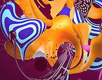 PSYCHEDELIC CHEMISTRY by mixerbink , via Behance