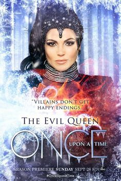 Once Upon a Time - Season 4 - The Evil Queen - Character Poster | Spoilers